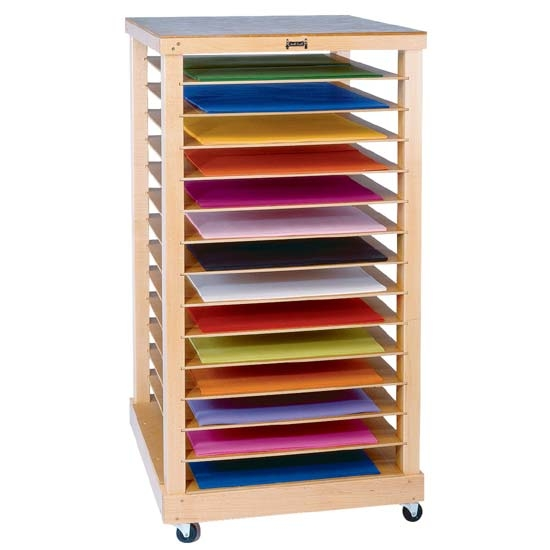Jonti Craft Paper Rack 0386jc Appleschoolsupply Com