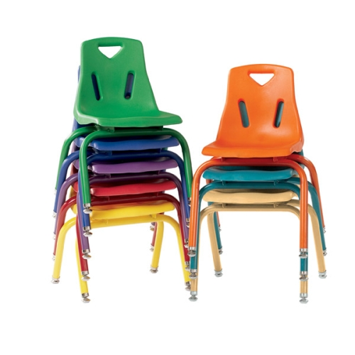 Berries Plastic Stackable Chairs W Matching Legs Jonti Craft