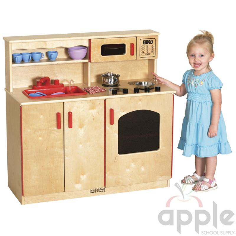 Entertainment Center Kitchen Set: ECR4Kids, ELR-0434, 4-in-1 Kitchen Center, FREE SHIPPING
