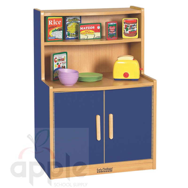 Ecr4kids elr 0745 xx play kitchen cupboard free shipping for Play kitchen table