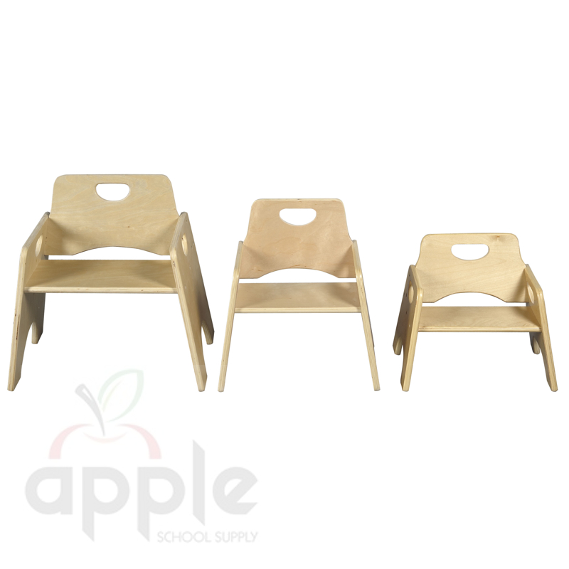 ECR4Kids ELR 18007 10 Stackable Wood Toddler Chairs FREE SHIPPING