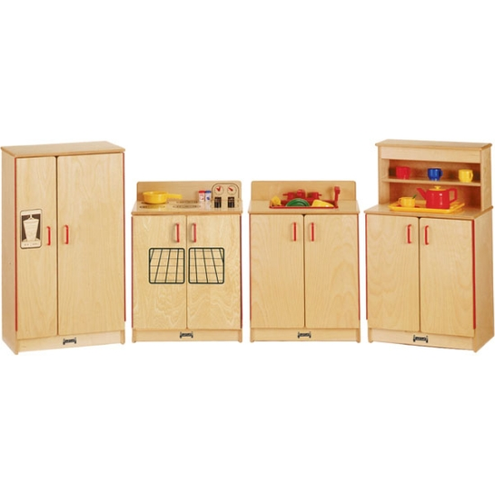kids play kitchen, 0273jc, apple school supply