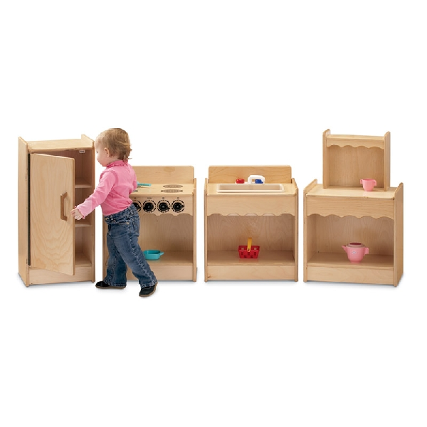 Toddler kitchen refrigerator 2076jc on sale now for Toddler kitchen set