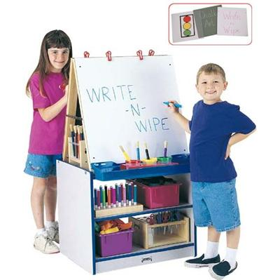 2 STATION EASEL - RAINBOW ACCENTS - Jonti-Craft 0289JCWW003