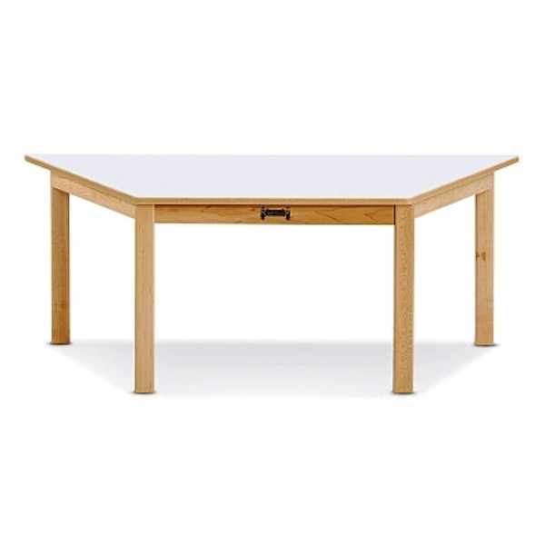 Multi purpose trapezoid table jonti craft on sale now for Trapezoid table
