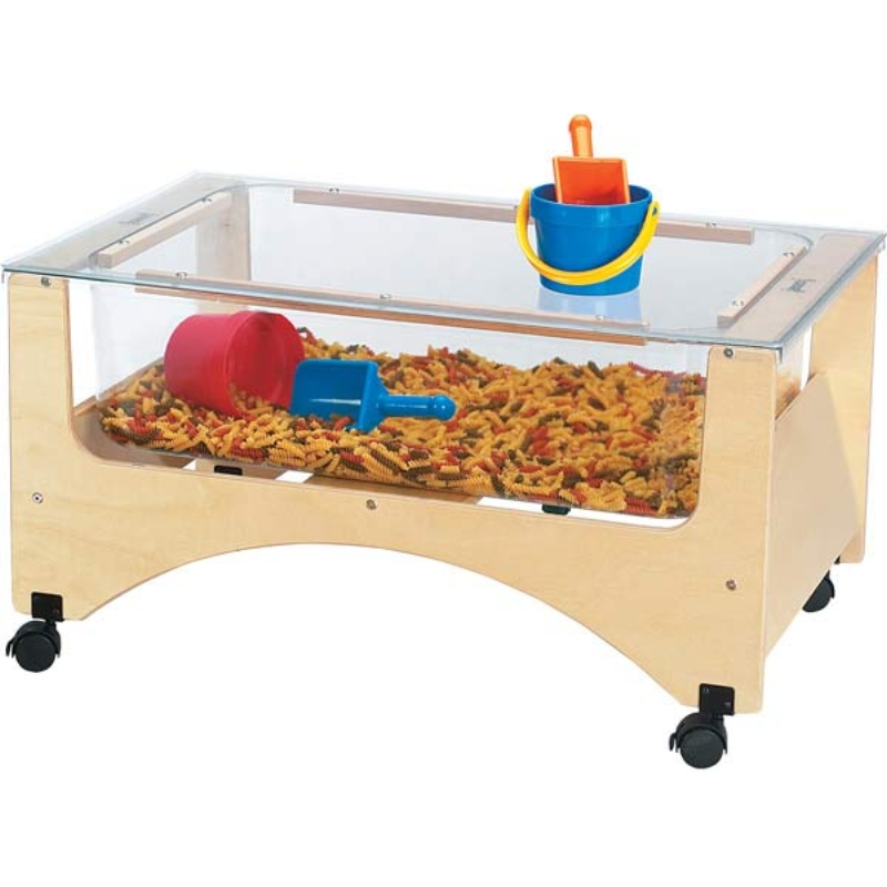 Elegant Cover For See Thru Sensory Table, Sand And Water Table.