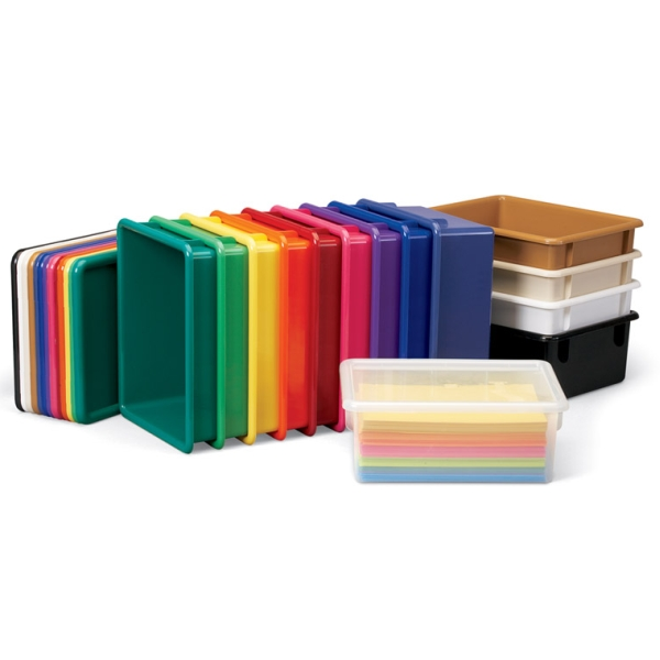 Jonti Craft Paper Trays N Lids 14 Colors On Sale Now