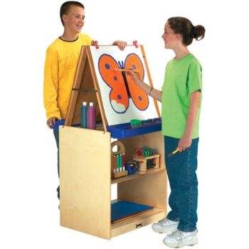 2 Station Easel School Age - Jonti-Craft 02891JC
