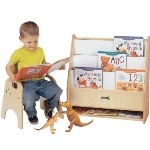 Jonti-Craft 0071JC Toddler Pick-a-Book Stand