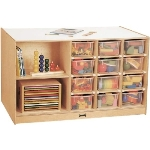 Jonti-Craft 04400JC Mobile Storage Island by Jonti-Craft