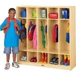 Jonti-Craft 2681JC COAT LOCKER APPLE SCHOOL SUPPLY