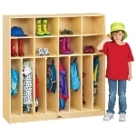 Jonti-Craft 2687JC Neat-n-Trim Lockers APPLE SCHOOL SUPPLY