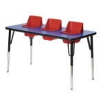 3 Seat Toddler Table - Feeding Table TT3