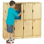 DOUBLE STACKED LOCKERS - Jonti Craft 4696JC