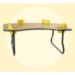 4 Seat Toddler Table - Feeding Table TT4