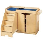 Jonti-Craft 5131JC Changing Table w/Stairs Apple School Supply