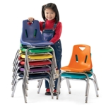 Stacking Chairs, Stackable Chairs, Berries, Jonti-Craft
