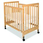 Safety Craft Drop Side Natural Crib 01-SS-N3