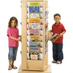 3550JC REVOLVING LITERACY TOWER - LARGE - Jonti-Craft - 3550JC