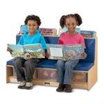 Jonti-Craft Literacy Couch Blue 37460JC