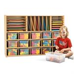 Young Time Sectional Cubbie Storage 7032YR44