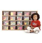 Young Time 20 Tray Cubbie Storage 7041YR