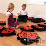 Back to Nature™: Ladybug Counting Story Cushions