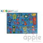 Reading Robots Rectangle Rug - Carpets For Kids - Free Shipping