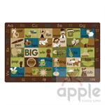 Rhyme Time Rectangle Nature Rug -Carpets for Kids - Free Shipping