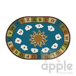 Sunny Day Learn & Play - Nature Oval Rug - Carpets for Kids - Free Shipping