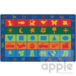 Symbol Sets Rectangle Rug - Carpets for Kids
