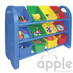 ELR-0216 3 Tier Storage Organizer With Bins ELR-0216 ECR4KIDS