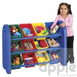 ECR4Kids 3 Tier Storage Organizer With Bins ELR-0216