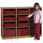 ECR4Kids Colorful Essentials Multi-Purpose Cabinet-12 Comp  ELR-0726