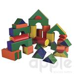 ECR4Kids SoftZone 35 Pc. Jumbo Soft Blocks ELR-12605