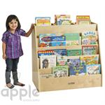 ECR4Kids Display & Store Mobile Book Cart  ELR-17103