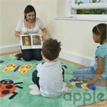 Kalokids Corner Bug Placement Carpet Medium MAT009