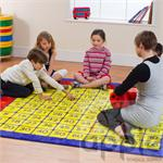 100 Square Multiplication Grid Carpet MAT002