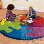 Kalokids Decorative™Color Palette Carpet MAT086