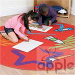 Decorative™ Color Shapes Carpet MAT089