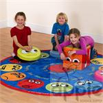 Emotions Interactive Circular Carpet MAT068