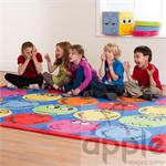 Kalokids Emotions Interactive Rectangular Carpet MAT069