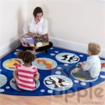 Kalokids Ocean Life™ Corner Placement Carpet MAT070