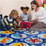 Kalokids Ocean Life™ Rectangular Placement Carpet MAT071