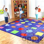 Kalokids Properties of Shapes Carpet (Large) MAT006