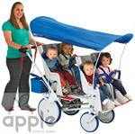 Angeles Runabout 4-seat Commercial Stroller - AFB6800