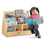 Jonti-Craft MapleWave Pick-a-Book Stand - 1 Sided - 3508JC011