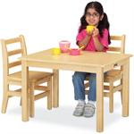 Jonti-Craft Maple Multi-Purpose Rectangle Table - 24