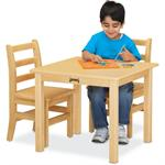 Jonti-Craft Maple Multi-Purpose Square Table - 24
