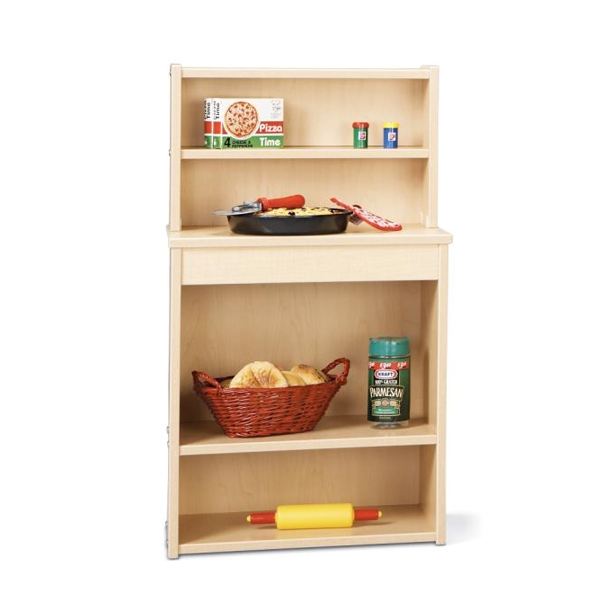 Young Time Furniture Wooden Play Kitchen Pantry